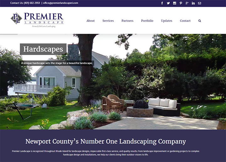 premier landscaping decastro