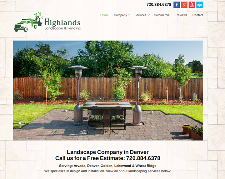 highlands landscaping fencing