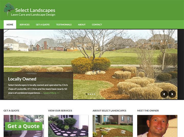 select landscapes