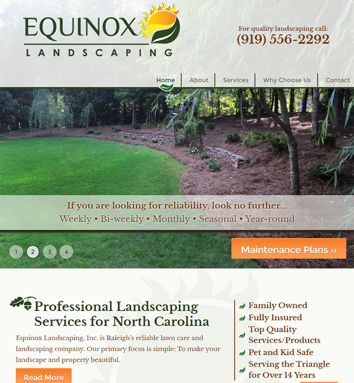 100 Best Landscaping Business Websites