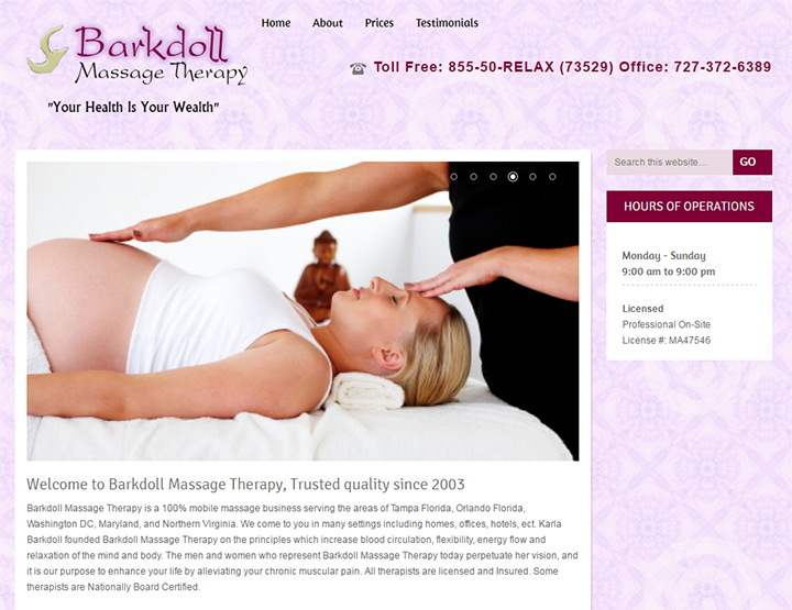 barkdoll massage