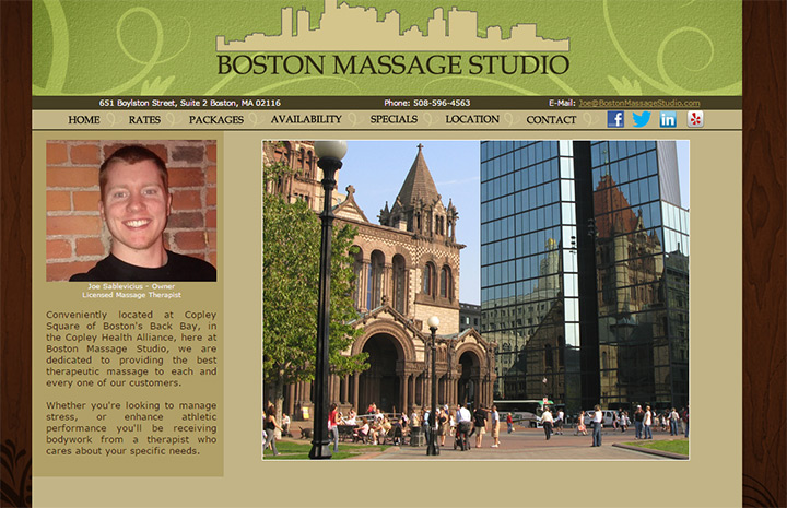 boston massage
