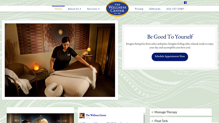 100+ Best Massage Therapy Website Designs