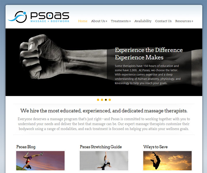 psoas massage bodywork