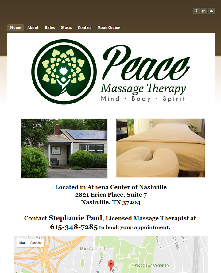 peace massage therapy