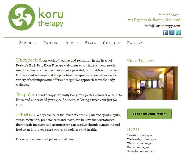 koru therapy