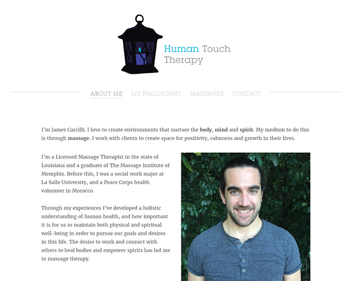 human touch therapy