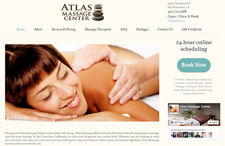 atlas massage