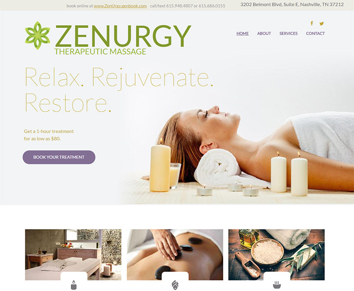 zenurgy homepage