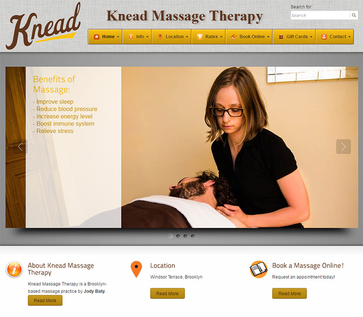 knead massage