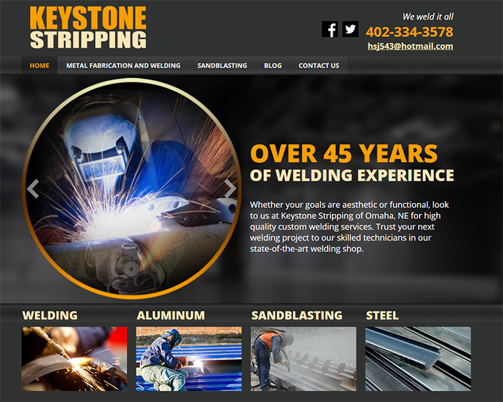 keystone stripping