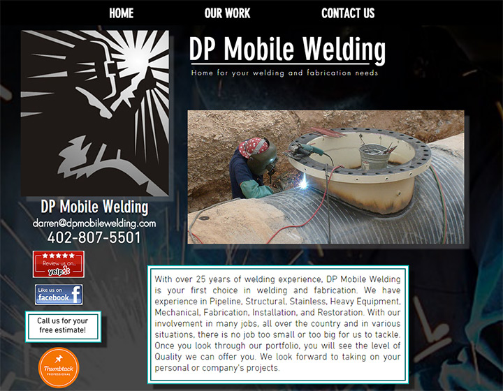 dp mobile welding