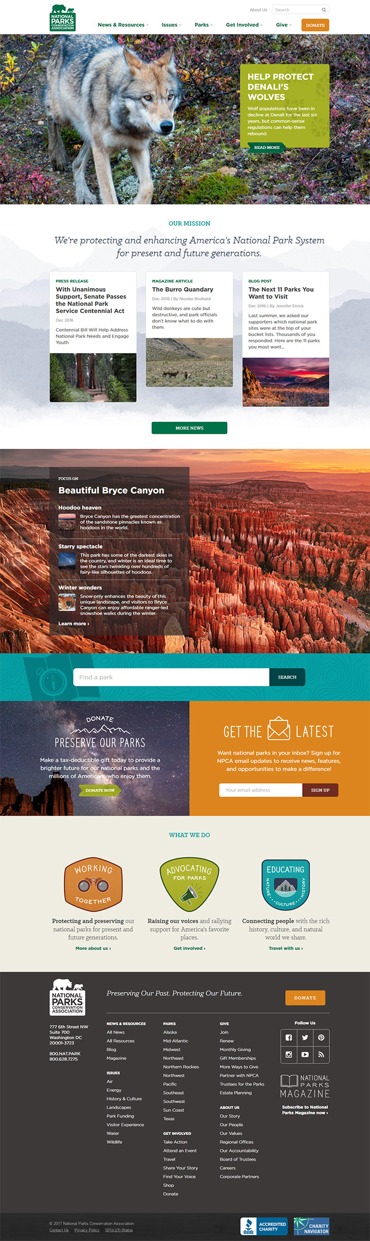 national parks conservation