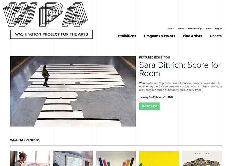 washington project arts