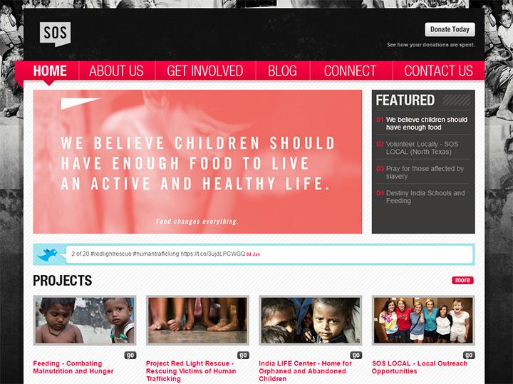 150+ Best Nonprofit & Charity Websites For Design Inspiration