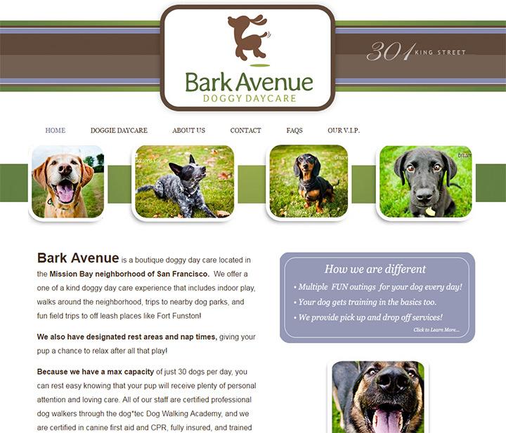 bark avenue daycare