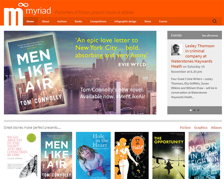 myriad publishing