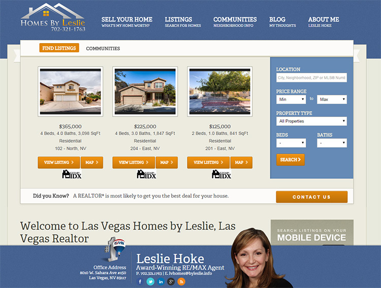 homes by leslie