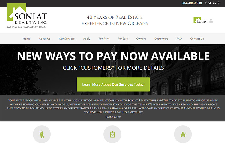 soniat realty
