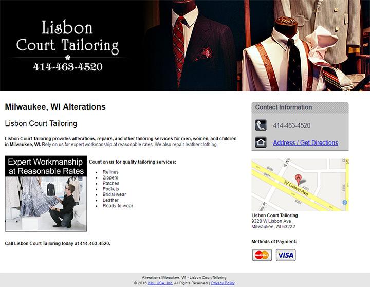 lisbon court tailoring