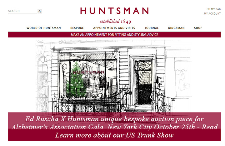 huntsman tailor