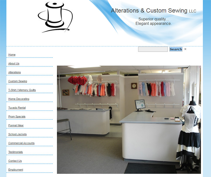 alterations custom sewing