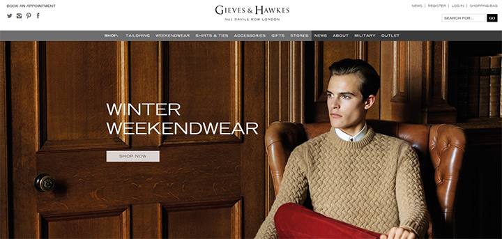 gieves hawkes london
