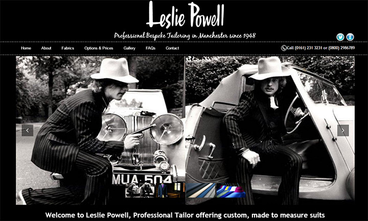 leslie powell tailor