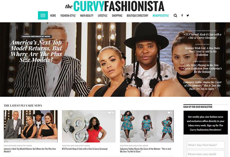 the curvy fashionista