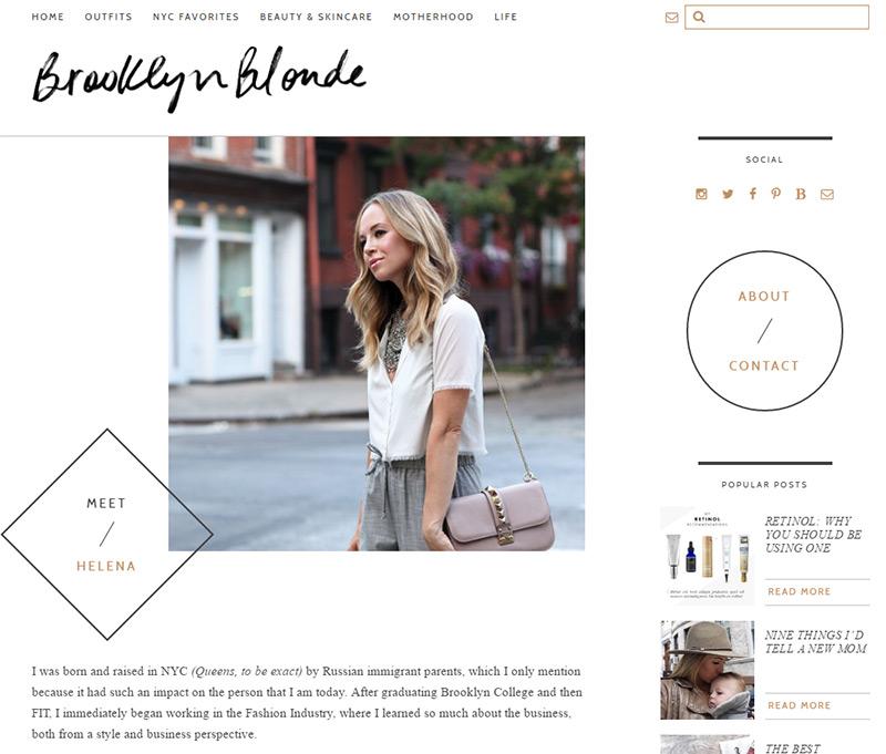 brooklyn blonde blog