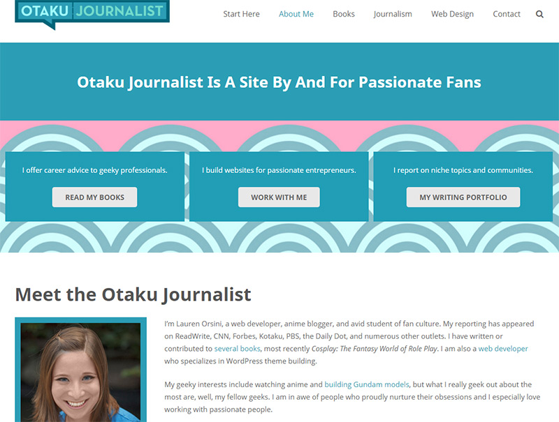 otaku journalist homepage