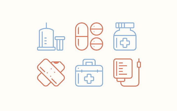 medical iconset freebie
