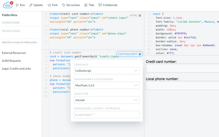 jsfiddle redesign 2015