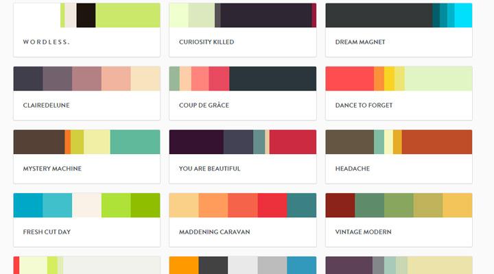 pltts color schemes